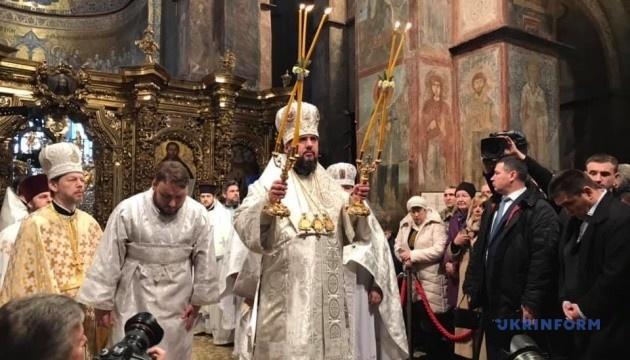 Epifaniy será entronizado como Primado de la Iglesia Ortodoxa de Ucrania en la Catedral de Santa Sofía