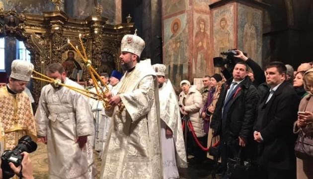 Інтер не транслював різдвяне богослужіння у Софії Київській