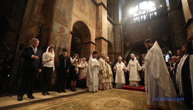 Порошенко призывает православные церкви мира признать ПЦУ