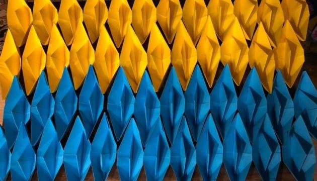 Українці в Азербайджані долучилися до акції «жовто-блакитний кораблик»
