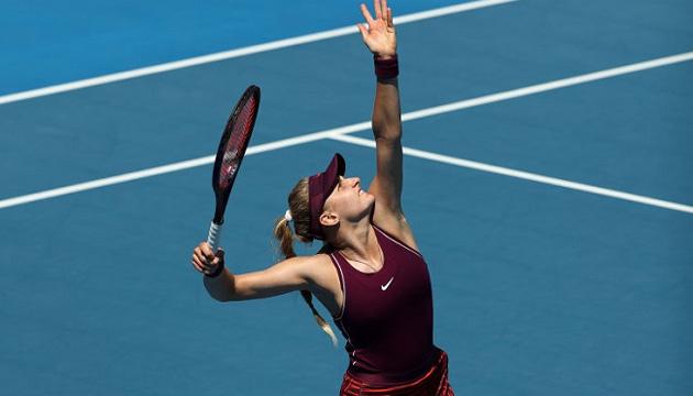 Теннис: Ястремская выиграла стартовый матч в парной сетке турнира WTA в Хобарте