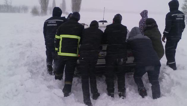 На Дніпропетровщині із заметів витягли понад сто авто - 11