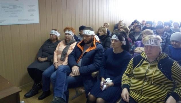 На Донеччині вже тиждень голодують працівники шахт
