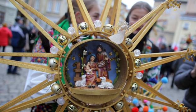 Українці з усього світу привітали зі святами в новорічному марафоні
