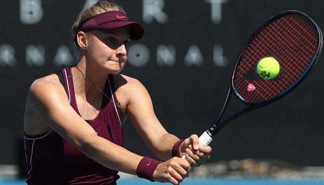 Теніс: Ястремська вийшла до парного півфіналу турніру WTA у Гобарті