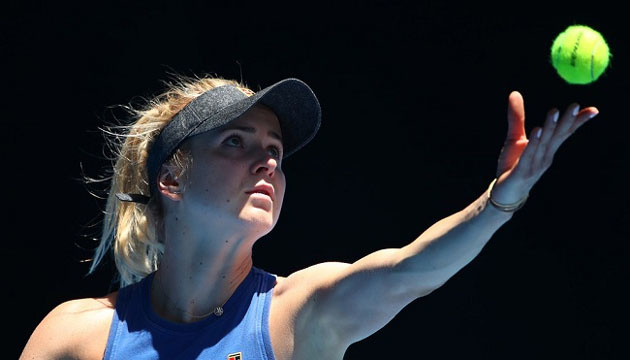 Свитолина провела тренировку с Возняцки на одном из кортов Australian Open