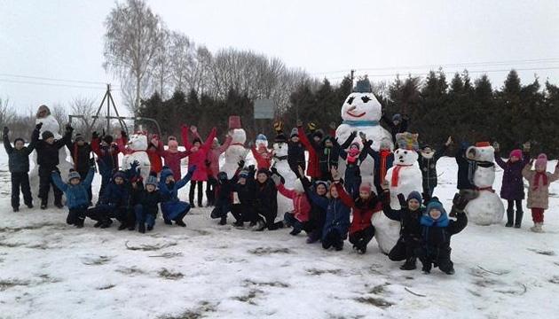 На Ривненщине дети и молодежь участвуют в конкурсах «Спортивная зима»