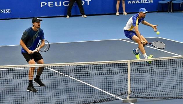 Молчанов вышел в 1/2 парного финала теннисного турнира в Канберре