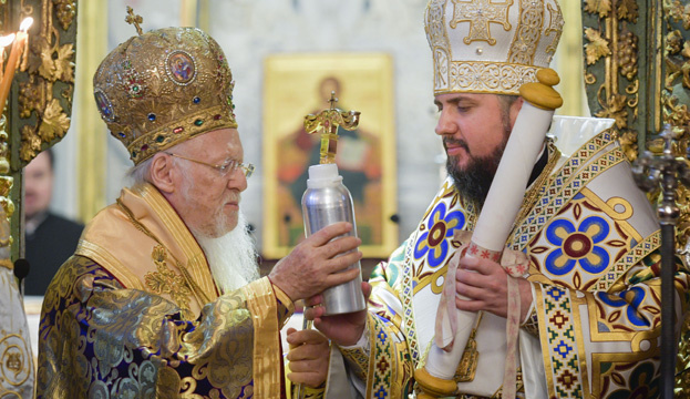Tomos of Autocephaly of Orthodox Church of Ukraine signed two years ago