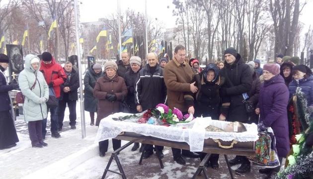 У Житомирі попрощалися із бійцем 24-ї бригади, який помер від хвороби серця