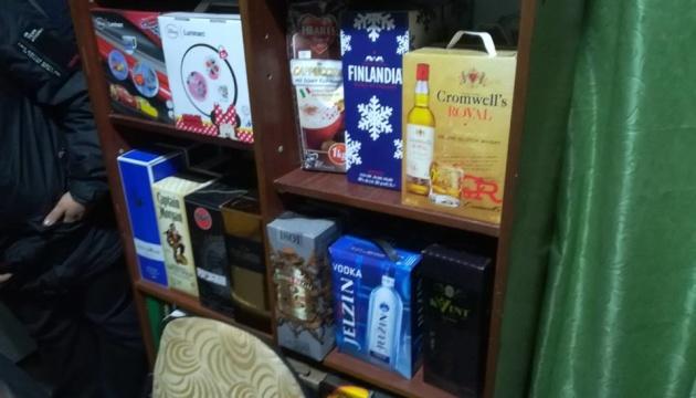 У Херсоні вилучили партію контрафактного алкоголю на 1,2 мільйона