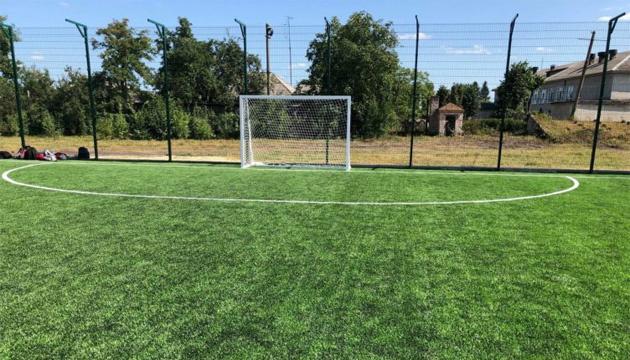 На Житомирщине в 2018 году установили 20 футбольных полей