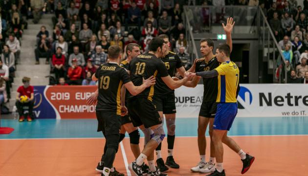 Мужская сборная Украины по волейболу выиграла все матчи квалификации Евро-2019