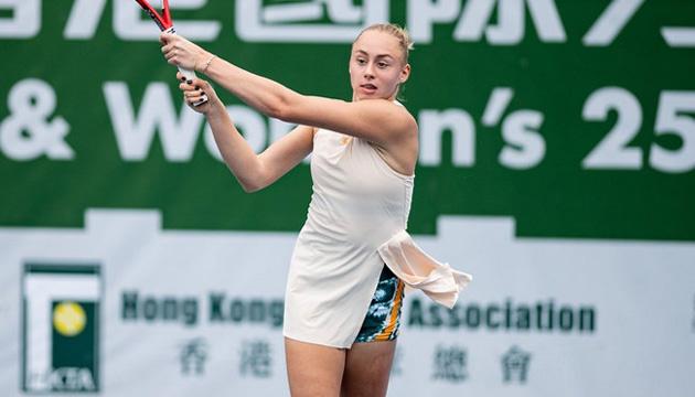 Теніс: Лопатецька вийшла у чвертьфінал турніру ITF у Гонконгу