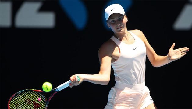 Марта Костюк стала финалисткой квалификации теннисного турнира Australian Open
