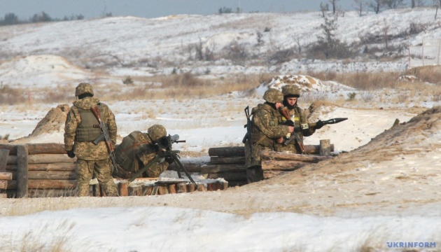統一部隊作戦圏:21日の露占領軍攻撃2回、宇兵死傷者なし