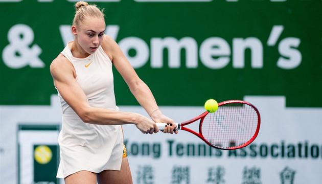 Теннис: Лопатецкая вышла в полуфинал турнира ITF в Гонконге