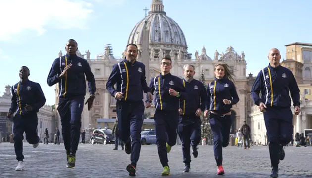Ватикан створив власну збірну з легкої атлетики
