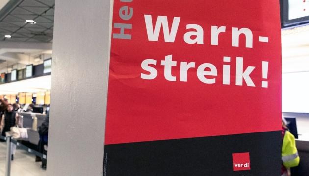 """До аэропортам-""""забастовщикам"""" присоединяется Франкфурт"""