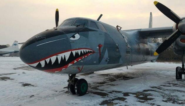 Літак з бойовика