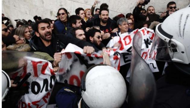У Греції відбулись сутички освітян з поліцією