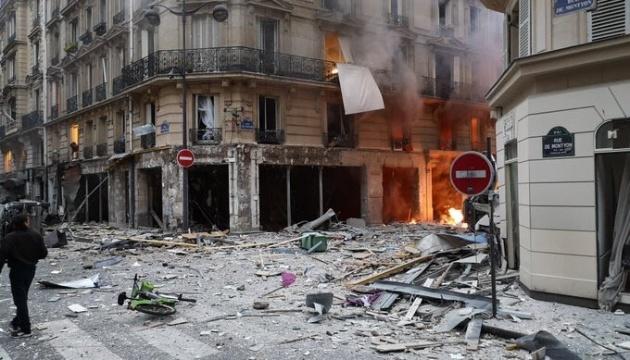 В результате взрыва в Париже пострадал украинец – посольство