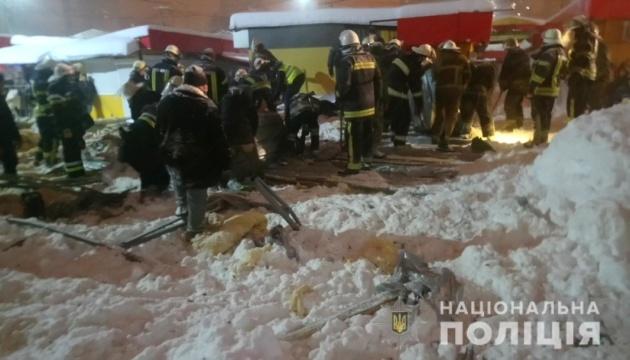Обвал торгового павильона в Харькове: прокуратура начала расследование