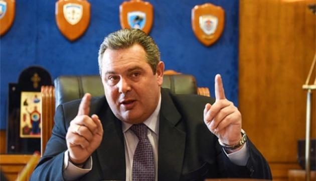 Министр обороны Греции подал в отставку из-за соглашения о названии Македонии