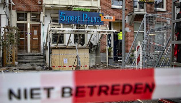 В Амстердамі стався вибух у кофішопі