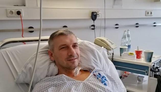 Німецькі лікарі видалили Михайлику разом із кулею частину легені