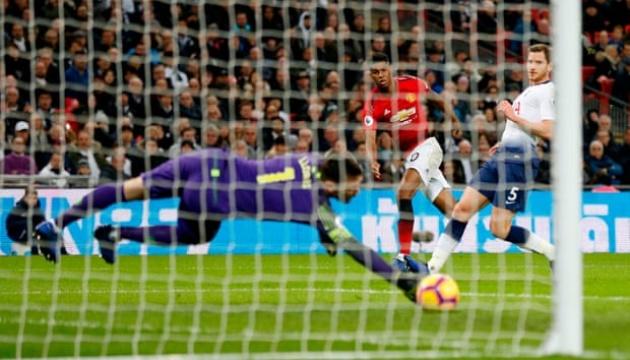 АПЛ: «Манчестер Юнайтед» обіграв «Тоттенгем»