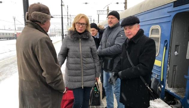 Денісова приїхала до Москви