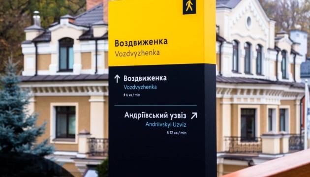 В Киеве создадут городскую систему туристической навигации