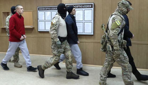 W Rosji przesłuchiwano czterech ukraińskich marynarzy