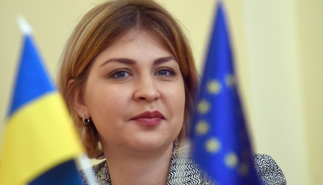 Stefanishyna outlines three priorities at position of Vice Prime Minister for European Integration