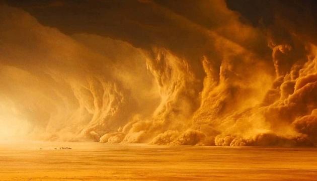 Египет накрыла мощная песчаная буря