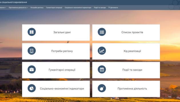 МТОТ запустив портал для онлайн-моніторингу наслідків збройного конфлікту та відновлення територій