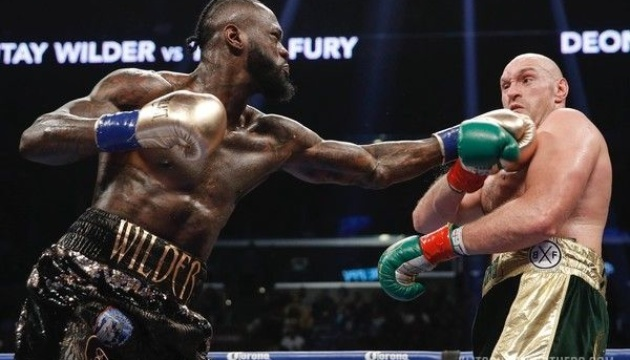 Бокс: WBC зобов'язав Вайлдера та Ф'юрі розпочати переговори про матч-реванш
