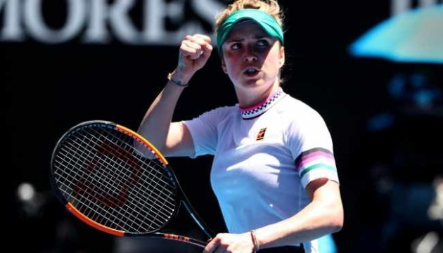 Теніс: Світоліна обійшла Медведєва за кількістю перемог на Australian Open
