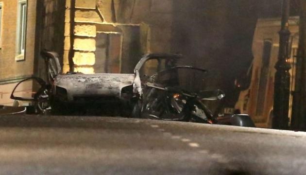 У мережі оприлюднили відео вибуху в Північній Ірландії