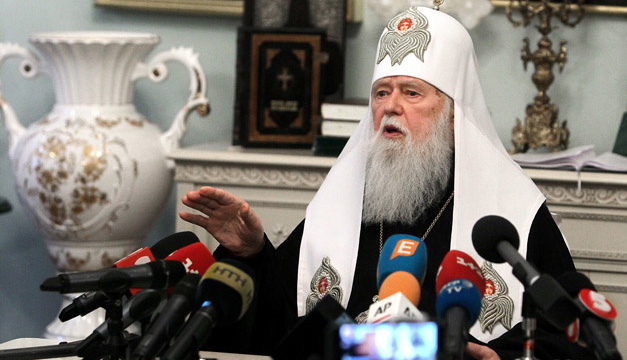 Філарет допускає розкол у Православній церкві України