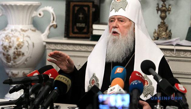 フィラレート・ウクライナ正教会名誉総主教、キーウ聖庁復活を希望していることを認める