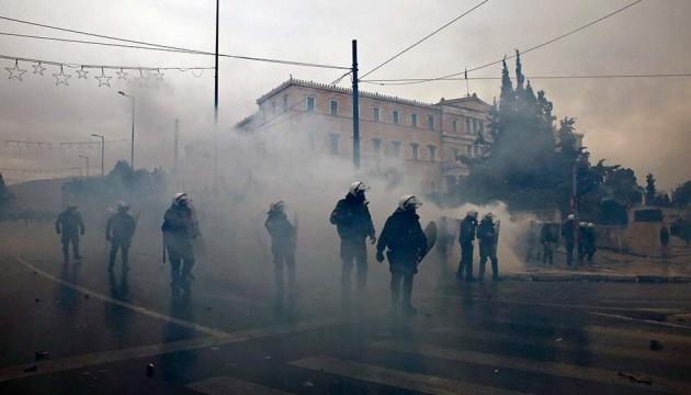 Кількість постраждалих під час протестів в Афінах зросла до 30