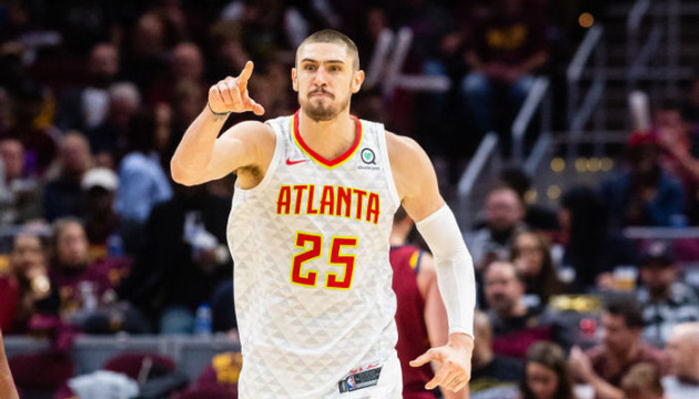 NBA:Double-double乌克兰人助老鹰力克雷霆
