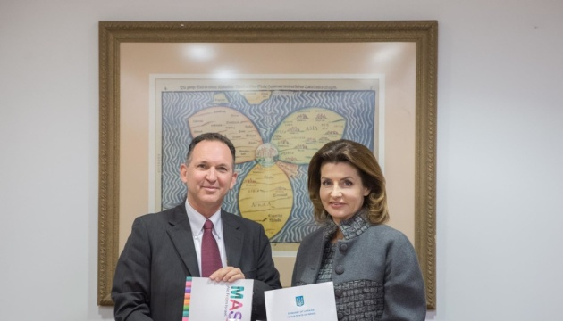 Марина Порошенко та МЗС Ізраїлю розвиватимуть інклюзивну освіту в Україні