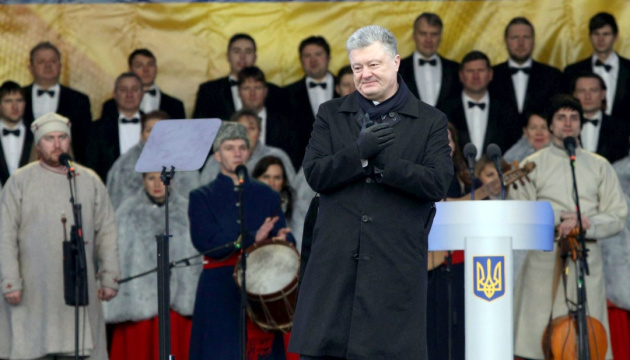 Poroshenko: Ningún imperio podrá dividir a los ucranianos (Fotos)