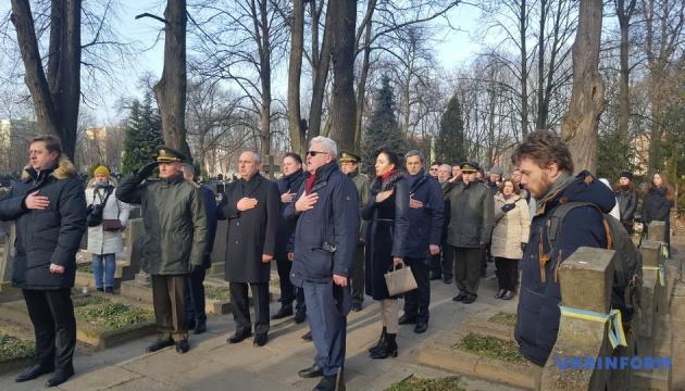 У Варшаві відзначили День Cоборності України