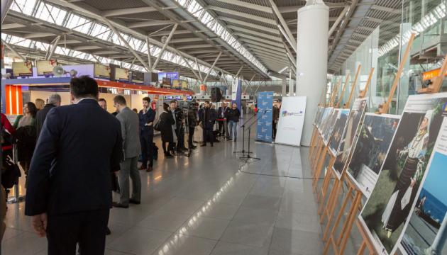 Українські скарби спадщини ЮНЕСКО показав у варшавському аеропорту