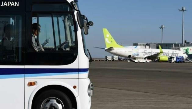 Токійський аеропорт випробовує безпілотний автобус