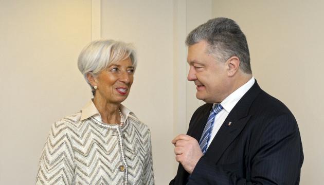 Lagarde: IWF ist bereit, Ukraine weiter zu unterstützen
